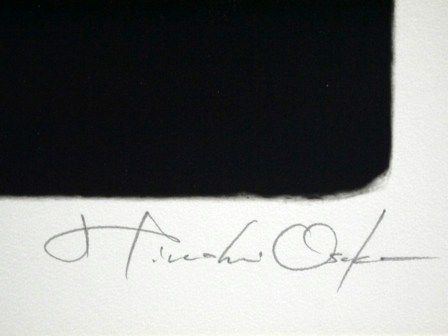 ■真作保証■【大坂寛】 ゼラチンシルバープリント 『Syzygy #47 May1985』■ed.22■サインあり■額装:41.5×32cm■_画像8