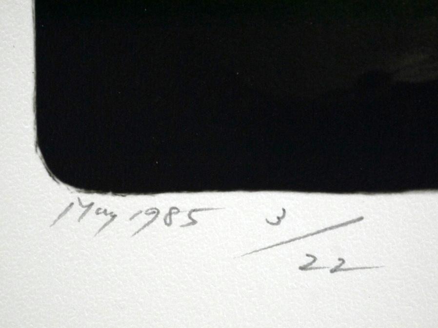 ■真作保証■【大坂寛】 ゼラチンシルバープリント 『Syzygy #47 May1985』■ed.22■サインあり■額装:41.5×32cm■_画像7
