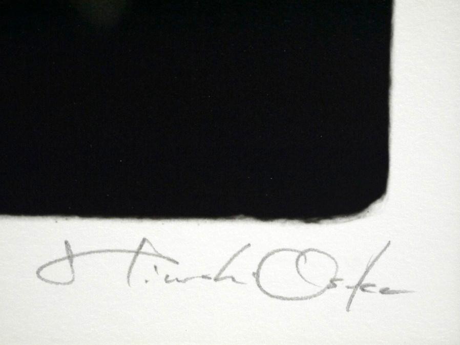 ■真作保証■【大坂寛】 ゼラチンシルバープリント 『Syzygy #45 Mar.1985』■ed.22■サインあり■額装:41.5×32cm■_画像8