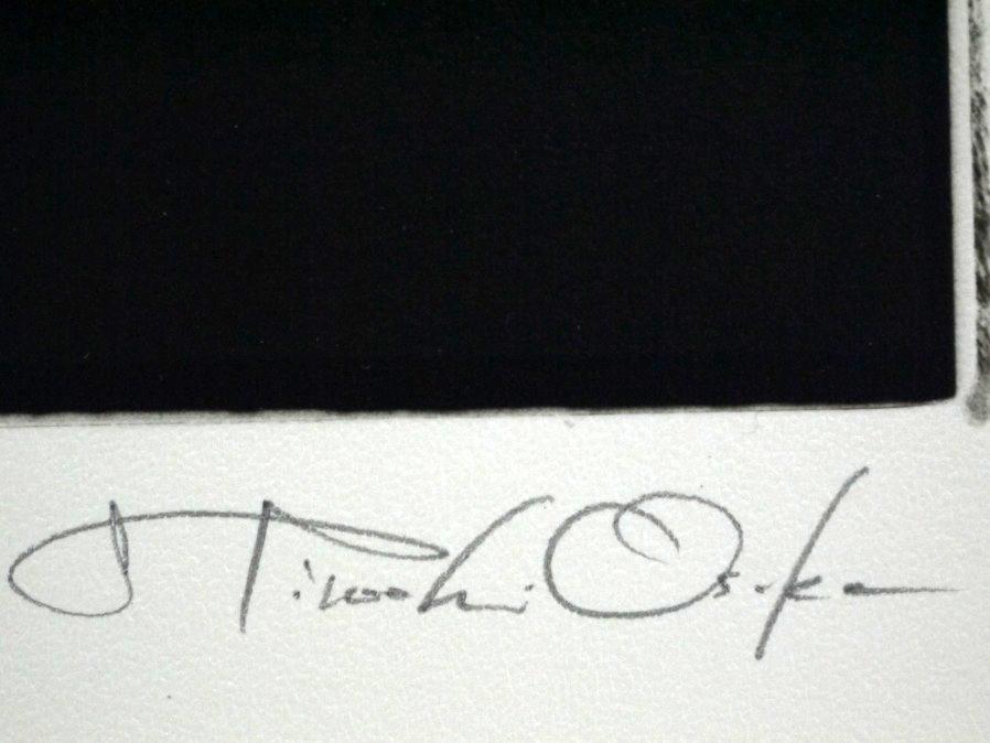 ■真作保証■【大坂寛】 ゼラチンシルバープリント 『Syzygy #61 Sept.1985』■ed.22■サインあり■額装:41.5×32cm■_画像8