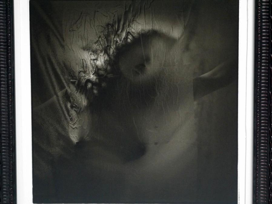 ■真作保証■【大坂寛】 ゼラチンシルバープリント 『Syzygy #61 Sept.1985』■ed.22■サインあり■額装:41.5×32cm■_画像3
