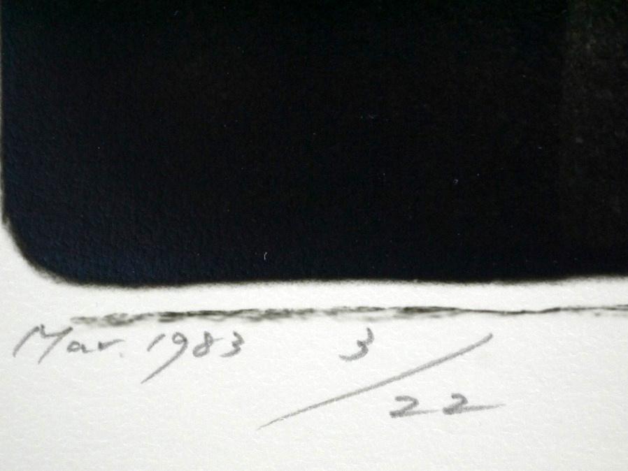 ■真作保証■【大坂寛】 ゼラチンシルバープリント 『Syzygy #2 Mar.1983』■ed.22■サインあり■額装:41.5×32cm■_画像7