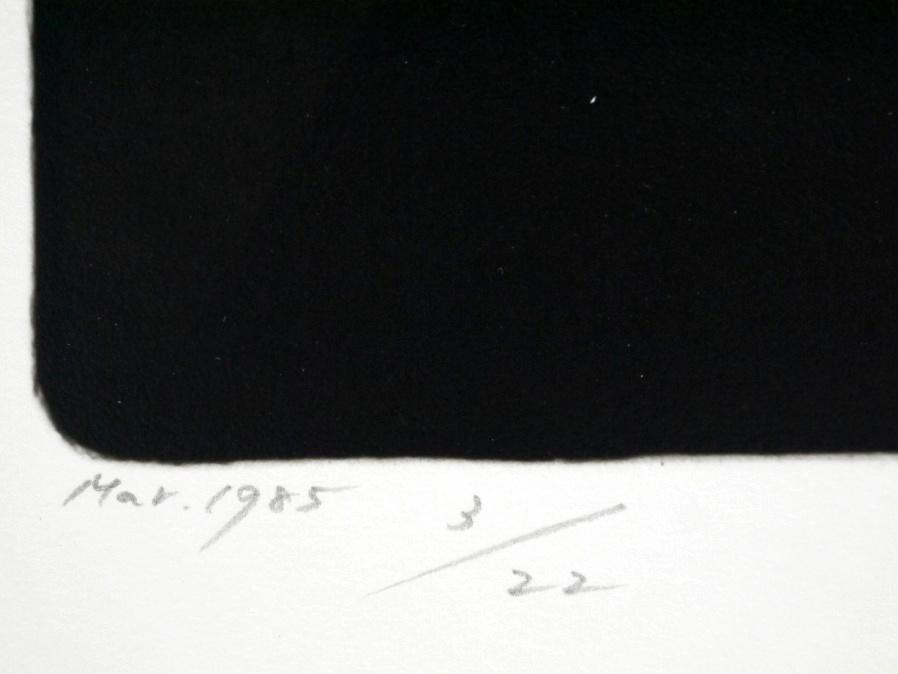 ■真作保証■【大坂寛】 ゼラチンシルバープリント 『Syzygy #45 Mar.1985』■ed.22■サインあり■額装:41.5×32cm■_画像7