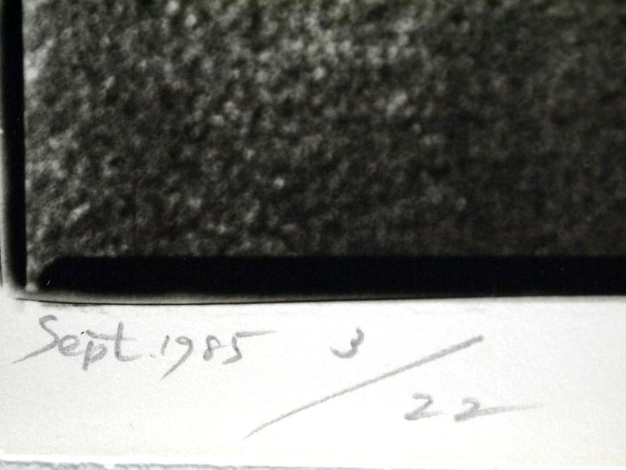 ■真作保証■【大坂寛】 ゼラチンシルバープリント 『Syzygy #57 Sept.1985』■ed.22■サインあり■額装:41.5×32cm■_画像7
