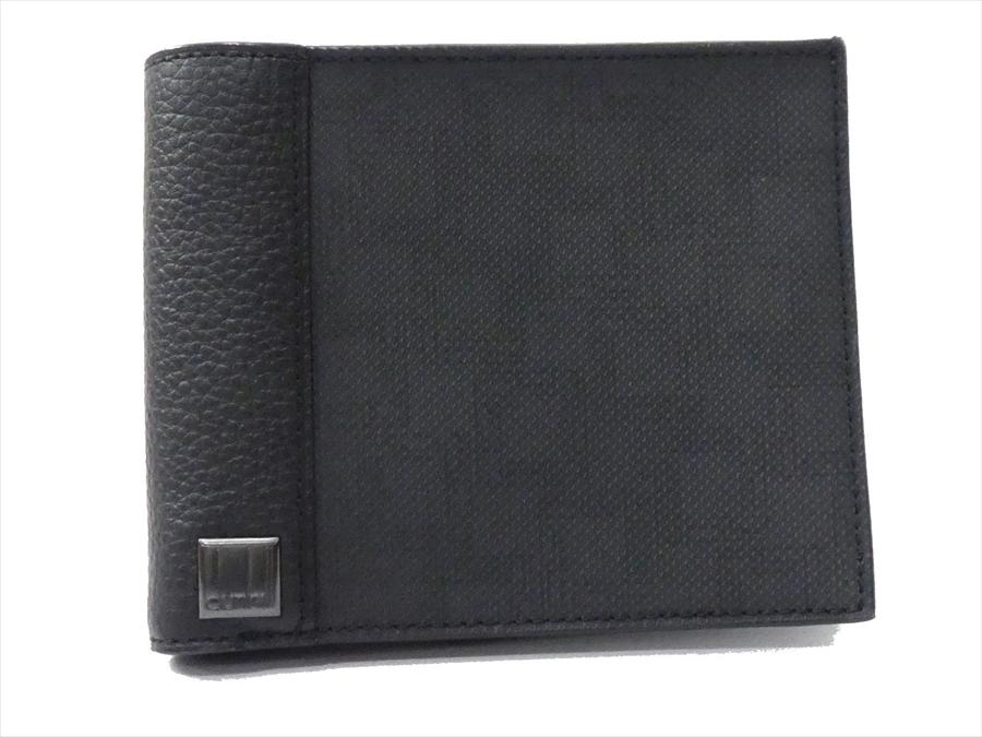 2cfd53e7b9f3 代購代標第一品牌- 樂淘letao - ☆ 新品ダンヒルPVC パスケース付き二つ折り財布札入れカードケース黒メンズd1279 ☆