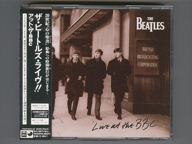 The Beatles Live At The BBC ビートルズ ライヴ!! アット・ザ・BBC [Used CD] [TOCP-8401・02] [2CD] [w/obi] [管理No.00264]_画像1