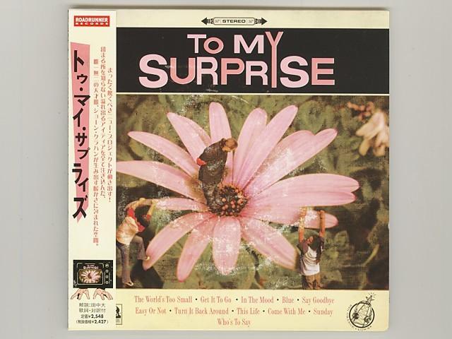 紙ジャケ To My Surprise トゥ・マイ・サプライズ Slipknot スリップノット [Used CD] [RRCY-21191] [Paper Sleeve] [w/obi] [管00264]_画像1