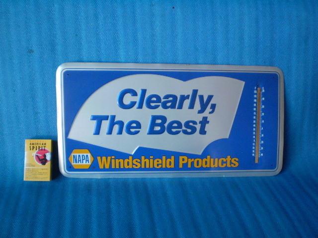70s80s90sCliearly The Best' NAPA' USA 看板 ガソリンスタンド ビンテージ カルフォルニア California LosAngels' Kustom HodRods_画像1