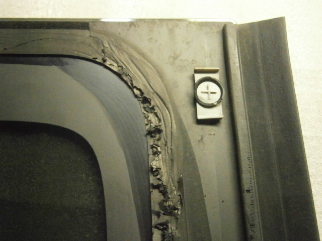 ホンダ N・BOX JF1 左リア クォーターガラス_画像3