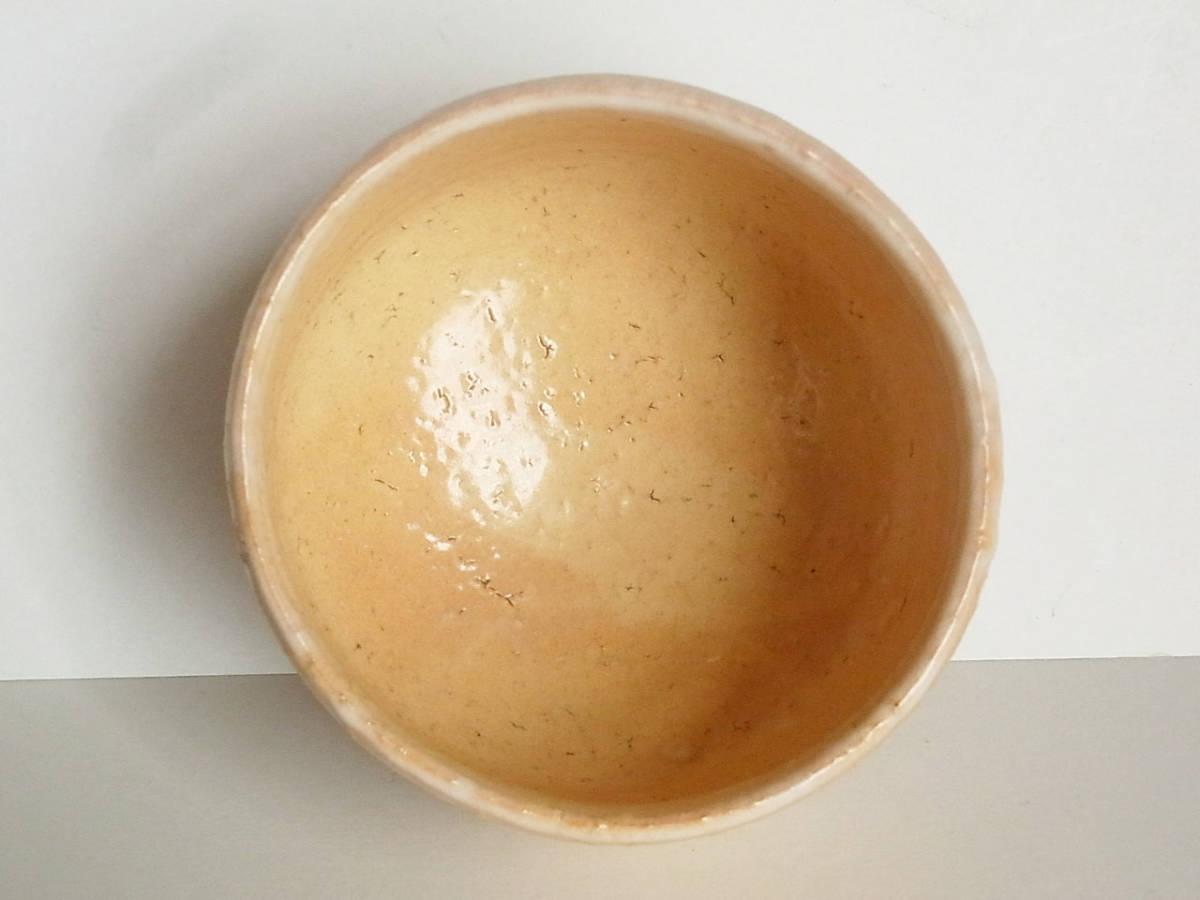 7C226●未使用●茶道具 萩焼 天鵬山 茶碗●水指 建水 蓋置 香合 棗 萩茶碗_画像8