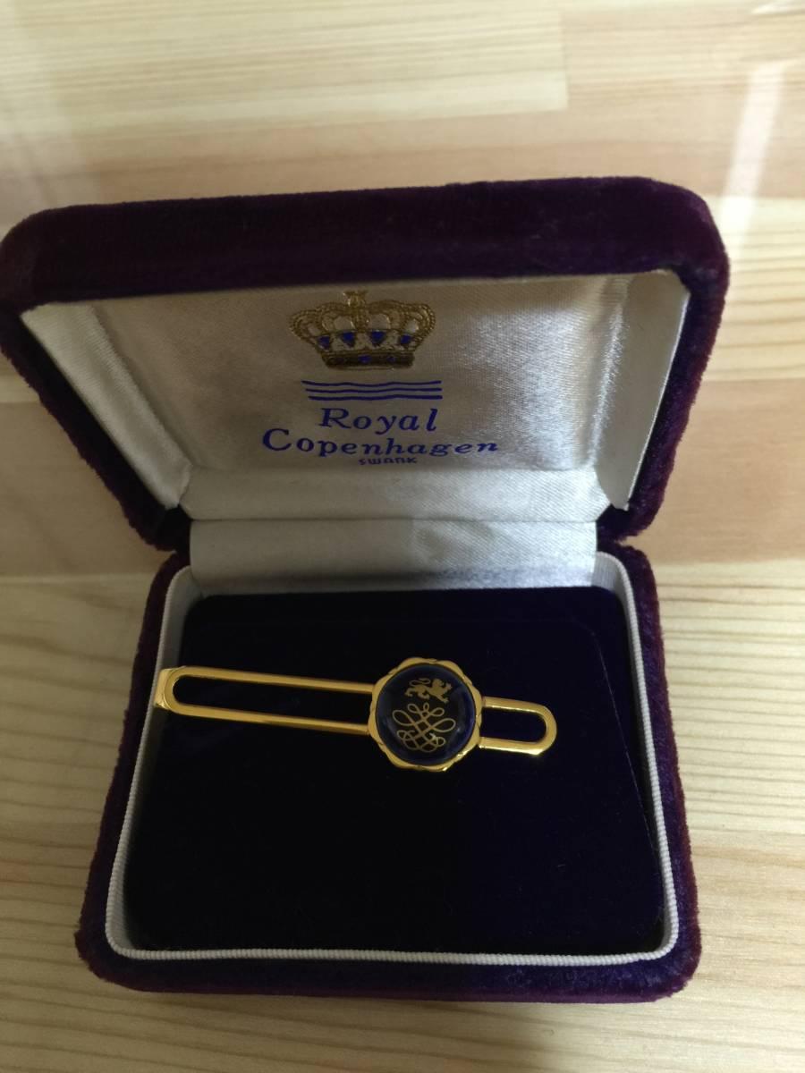 unused * Royal Copenhagen s one kROYAL COPENHAGEN SWANK necktie pin