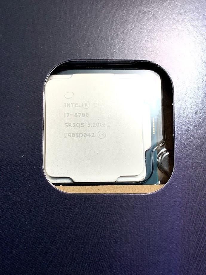 【新品・未開封】インテル Core i7 8700_画像3