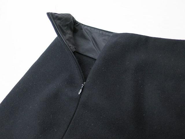 【即決】MIU MIU ミュウミュウ ウール台形スカート ブラック 36 レディース al1705b_画像6