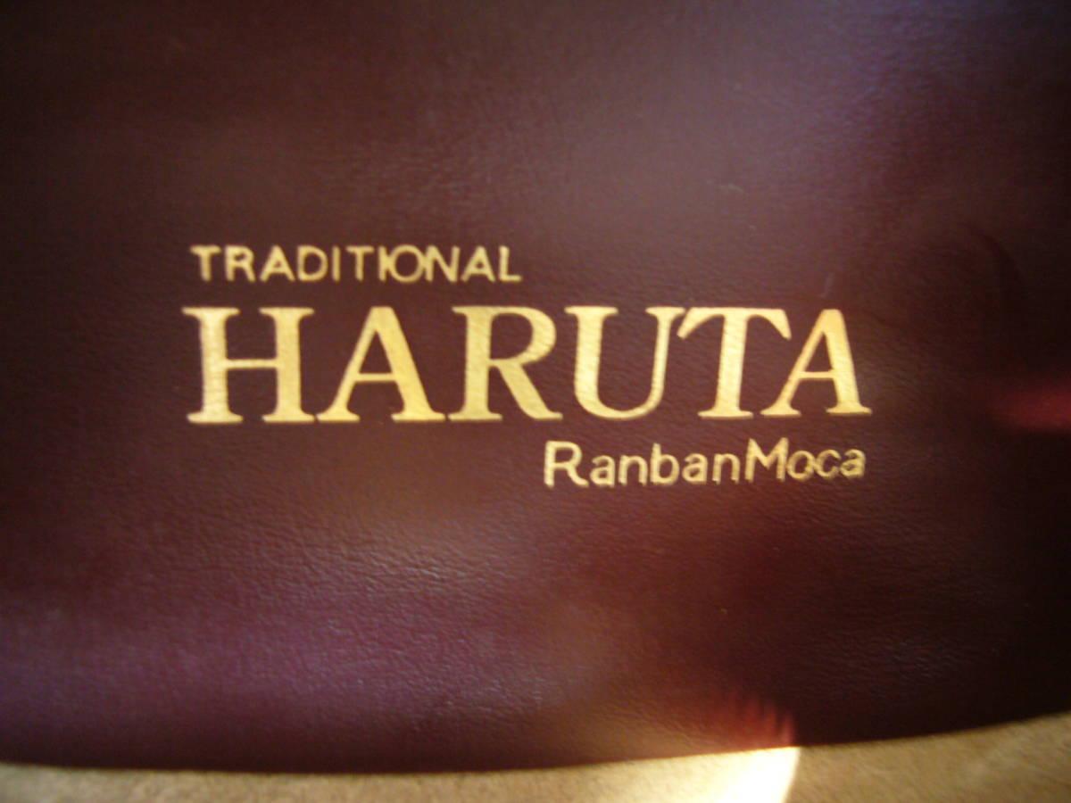 ★HARUTA   RanbanMoca  日本製   RCIC 304  本革 ローファー  茶   25.0cm E    美品_画像8