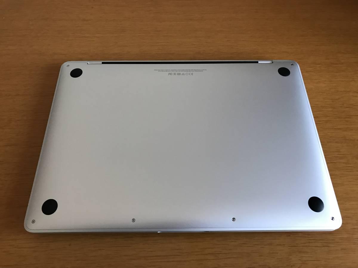 Apple MacBookPro MLUQ2J/A Retina ディスプレイ 2560×1600 SSD 256GB メモリー 8GB 充放電回数16回_画像4
