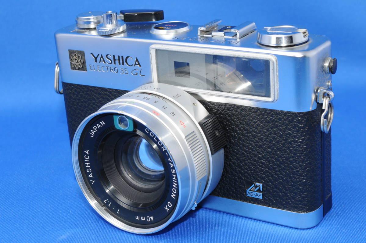 ☆希少外観美品☆ヤシカ エレクトロ35 GL Color Yashinon DX 40mm f1.7 #9031653