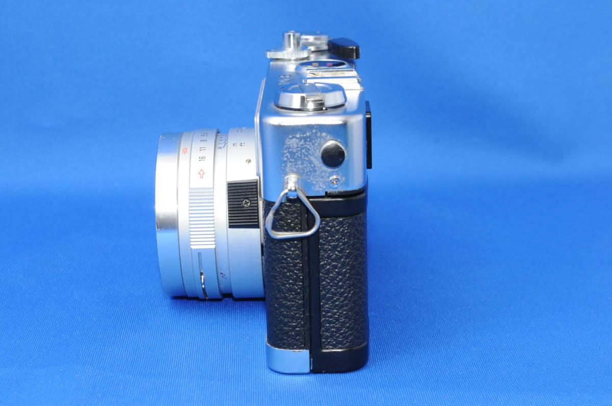 ☆希少外観美品☆ヤシカ エレクトロ35 GL Color Yashinon DX 40mm f1.7 #9031653_画像4