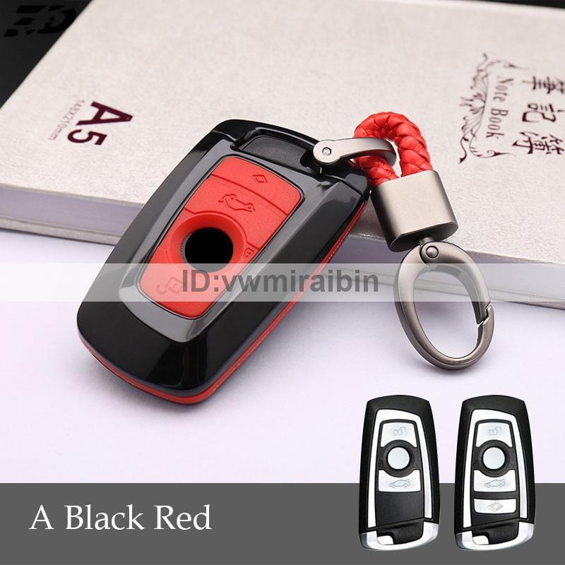 赤黒 Mパフォ F31 F30 F11 X5 キー ケース カバー BMW F20F21F22F32F33F34F36F10F07F06F12F13F01F02F04F25F26 X3X4 M2M3M5M3M6_画像1