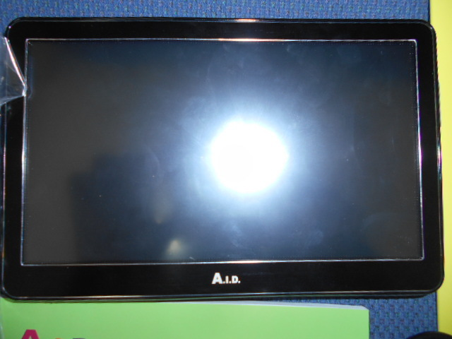 AID 7インチ フルセグ ポータブルナビ  ナビゲーション  A.I.D TS75PN 美品 1円スタート_画像2