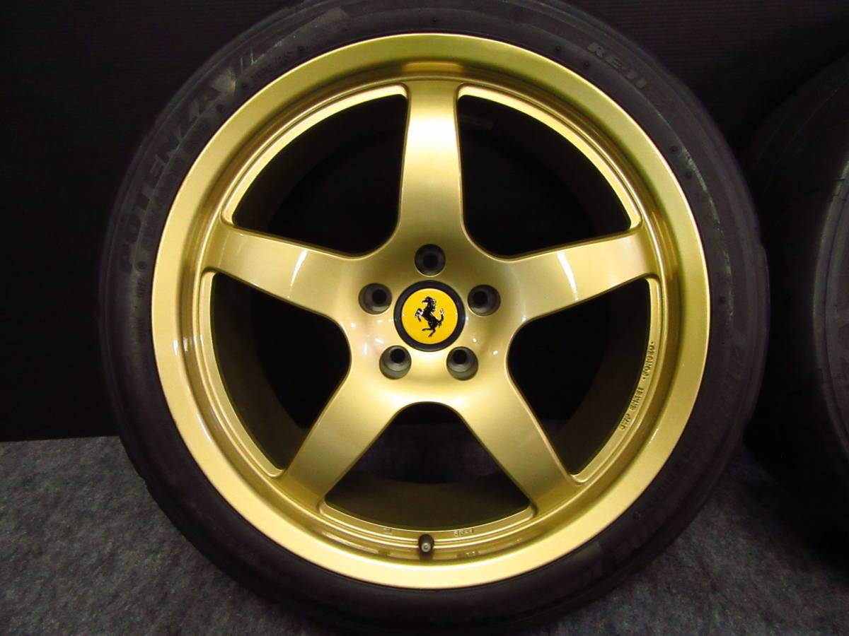 希少 フェラーリ 用 RSD×ENKEI製 SF-1 18インチ 美品 軽量 鍛造 Ferrari 360 MODENA F355 F348 テスタロッサ F512TR モデナ_画像2