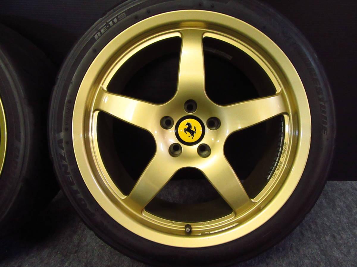 希少 フェラーリ 用 RSD×ENKEI製 SF-1 18インチ 美品 軽量 鍛造 Ferrari 360 MODENA F355 F348 テスタロッサ F512TR モデナ_画像3