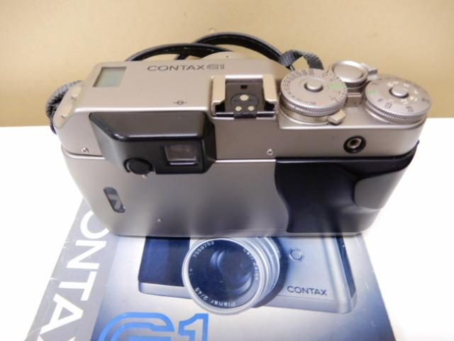 【2410】 CONTAX G1 Carl Zeiss コンタックス カールツァイス 2/45 中古美品_画像10
