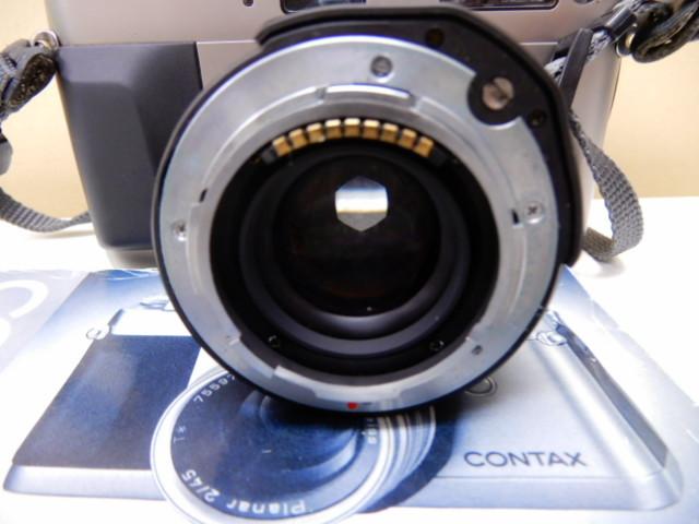 【2410】 CONTAX G1 Carl Zeiss コンタックス カールツァイス 2/45 中古美品_画像6