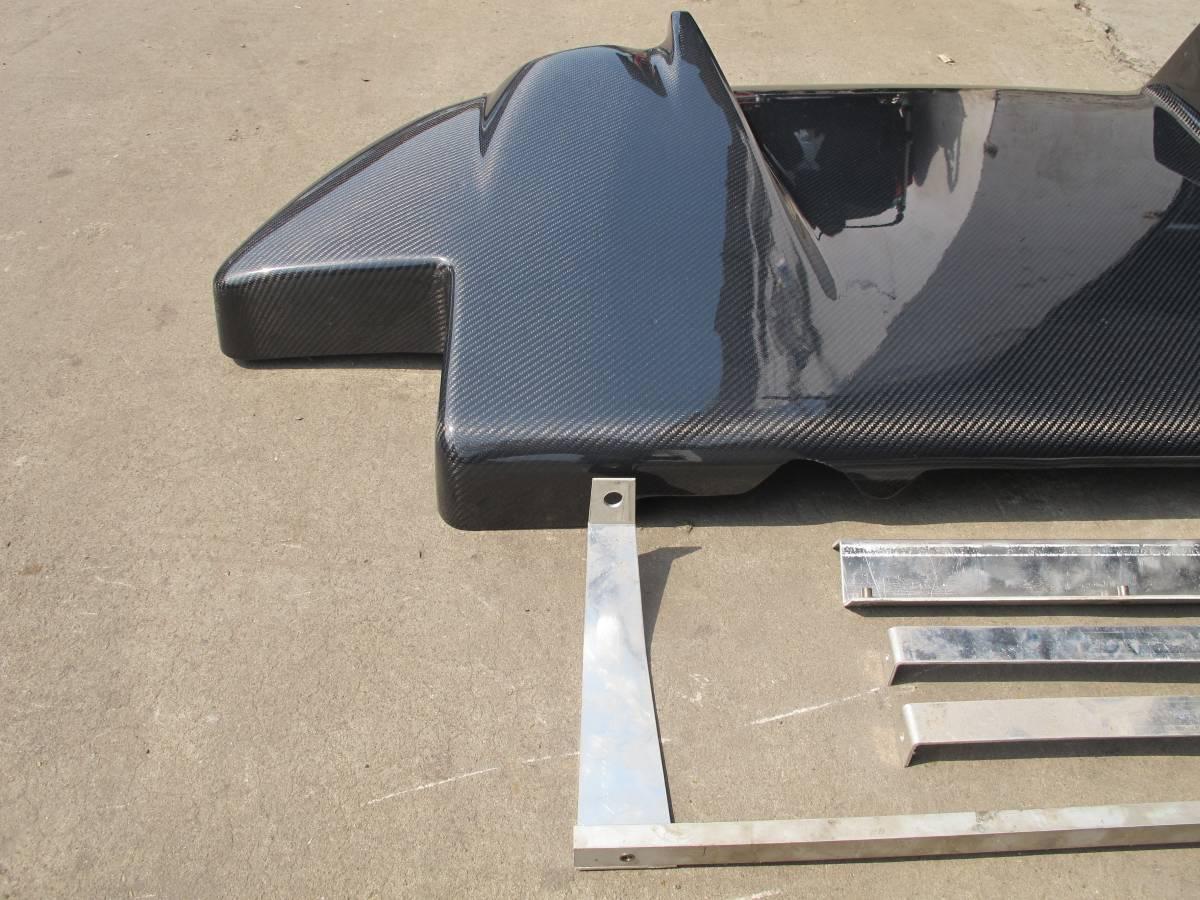 ホンダ S2000 AP1 J-STYLE リアディフューザー+メタルフィッティングキット FRP_画像6