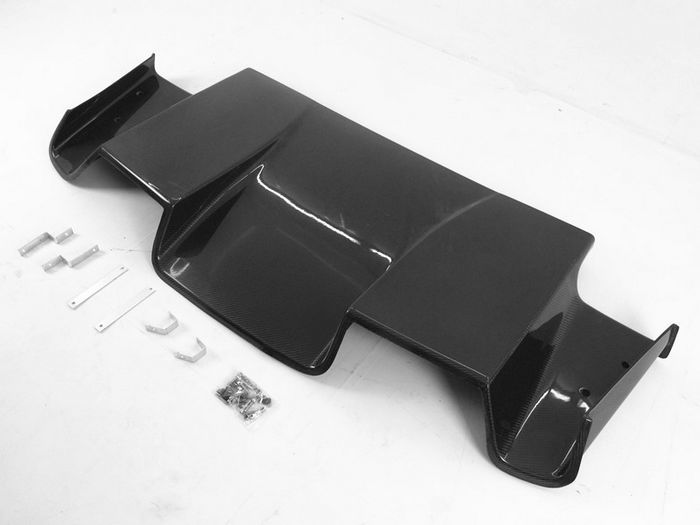 ホンダ S2000 AP1 AP2 S-STYLE リアディフューザー カーボン_画像3