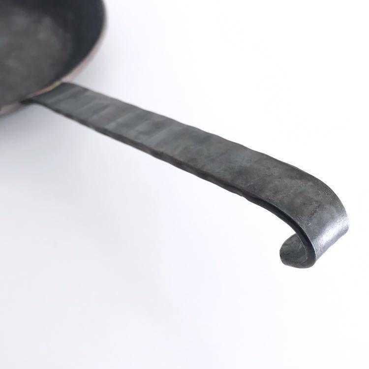 未使用品 Turk ターク クラシックフライパン 1号 18cm 鉄鍋_画像4