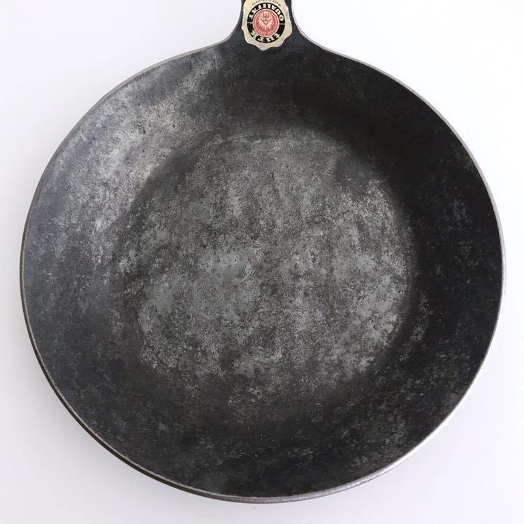 未使用品 Turk ターク クラシックフライパン 1号 18cm 鉄鍋_画像2