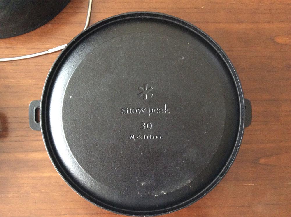 廃盤【SnowPeakスノーピーク】 和鉄ダッチオーブン30 CS-530 ダッジオーブン30