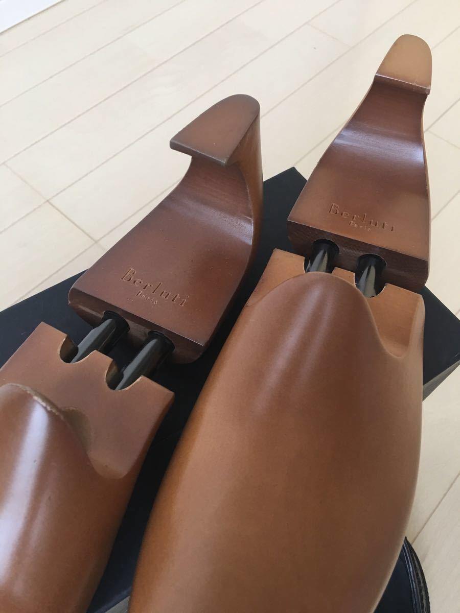 新品未使用◇極上 定価28万 Berluti James Ellipse Leather Oxford ベルルッティ ウイングチップ 6,5 25,5cm 2016-17FW_画像8