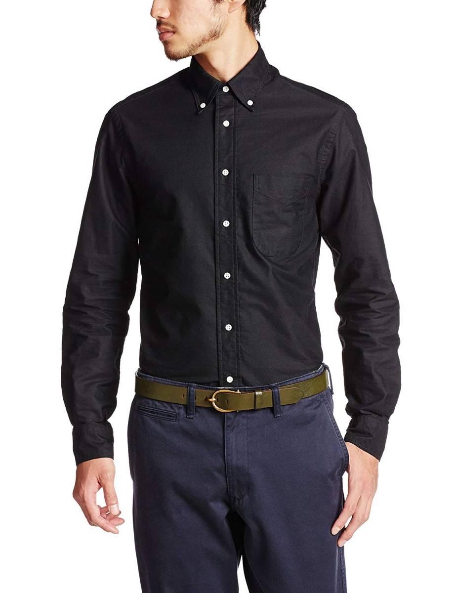 送料無料 GITMAN VINTAGE ギットマンヴィンテージ OXFORD B.D SHIRTS Black BDシャツ INDIVIDUALIZED SHIRTS resolute好きな方にも