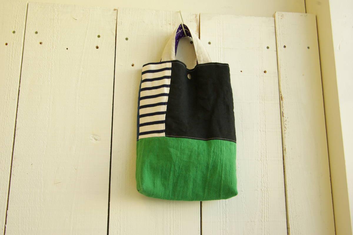 雑貨家 ハンドメイド トートバック くつバック 袋