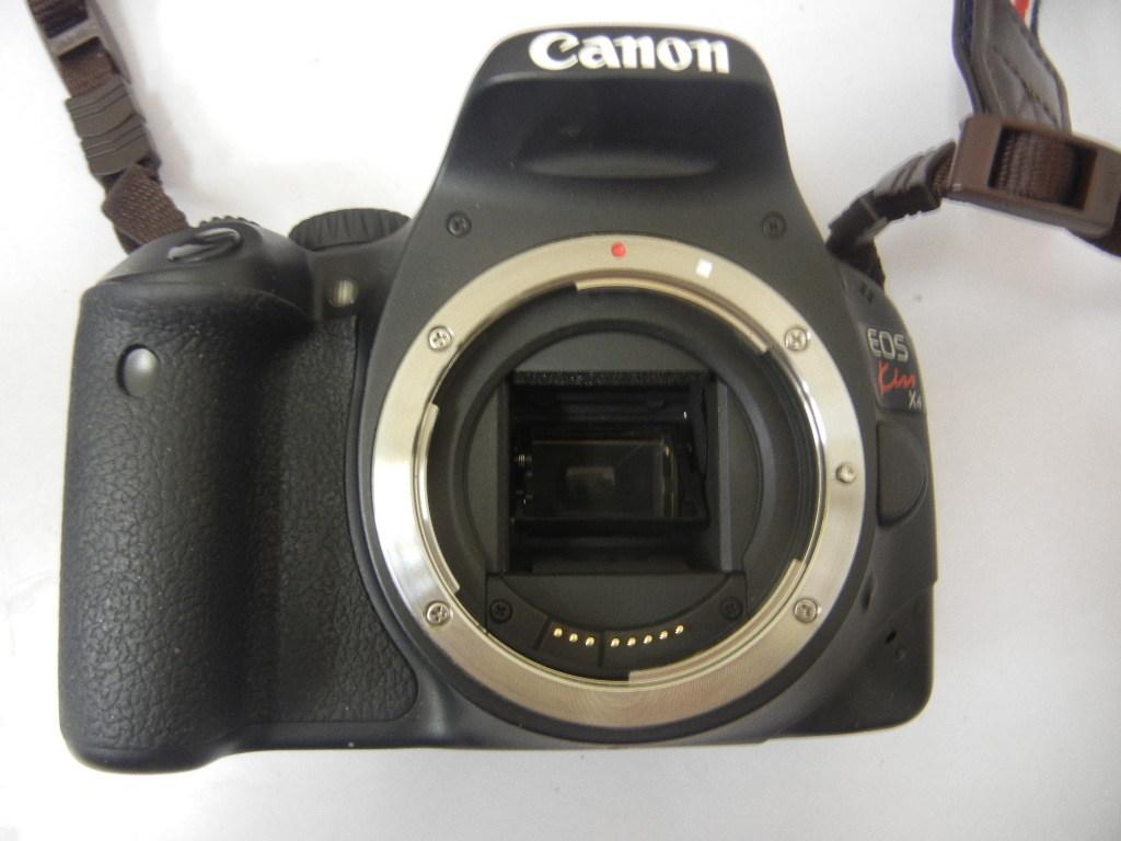 9140 Canon EOS Kiss X4 EF28-80mm 1:3.5-5.6 V USM 中古 現状 ジャンク扱い_画像2