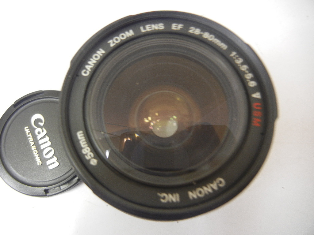 9140 Canon EOS Kiss X4 EF28-80mm 1:3.5-5.6 V USM 中古 現状 ジャンク扱い_画像6