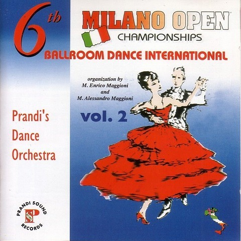 6th Milano Open 2 /Prandi 【社交ダンス音楽CD】1563