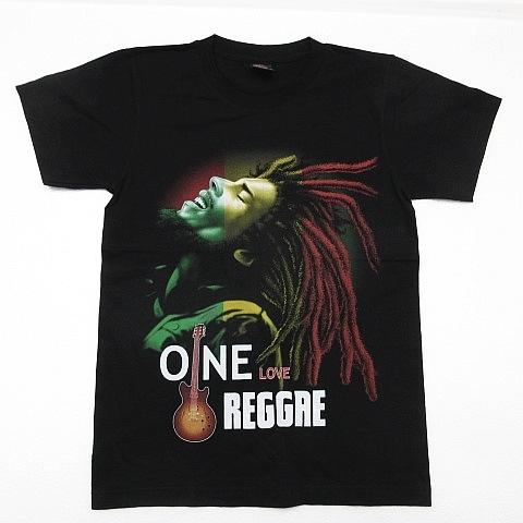 【新品】ボブマーリー Bob Marley 半袖Tシャツ レゲエ ラスタ ガンジャ 大麻 マリファナ 両面プリント 黒 メンズ Sサイズ ■管理番号L185_画像1