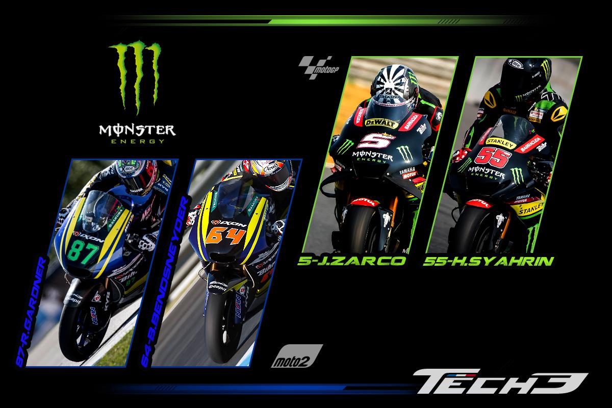 正規品 【Monster TECH3 YAMAHA】motoGP オフィシャル 公式 パーカー BLACK フーディ【M】(検 Super Bike Yamaha Racing ZARCO 5 M1)_画像5