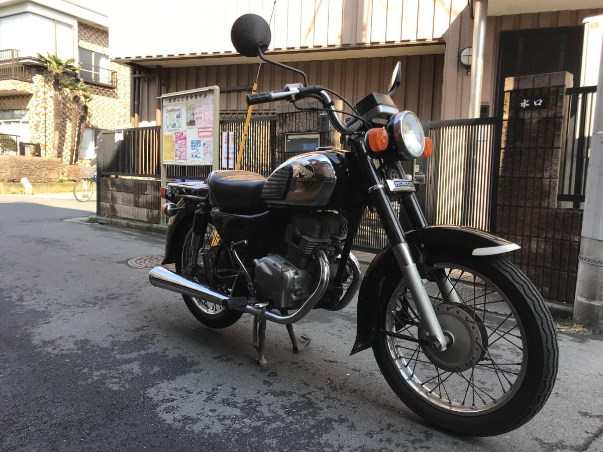 東京葛飾区発 HONDA ベンリィCD125T Benly CD125T 希少 低走行 お買得 _画像3