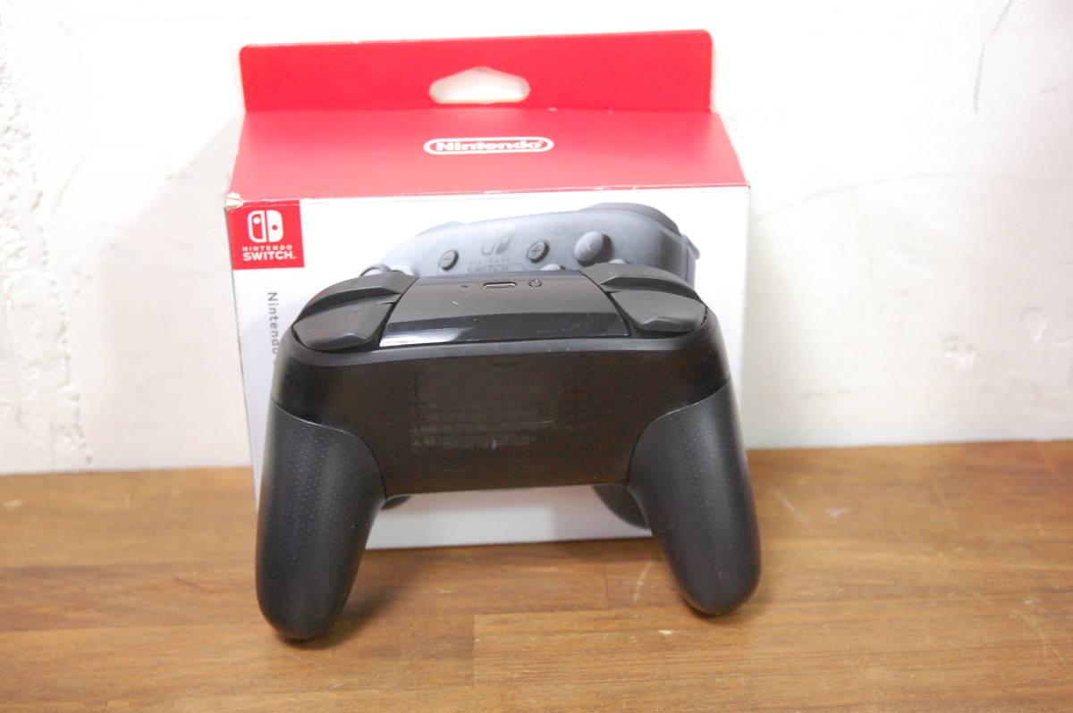 NINTENDO Switch Pro ニンテンドー スイッチ コントローラー HAC-013 美品_画像2