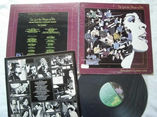 Thelma Houston & Pressure Cooker / I've Got The Music In Me / Michael Omartian,Stevie Wonder, Syreeta Wright ,Lennon & McCartney_画像1