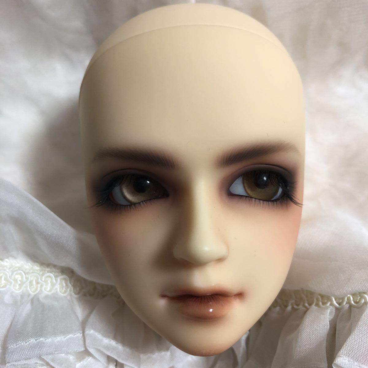ボークス [SDgr 男の子 慧 kei] ヘッド デフォルトメイク&アイ ヘッドプレート有り_画像3