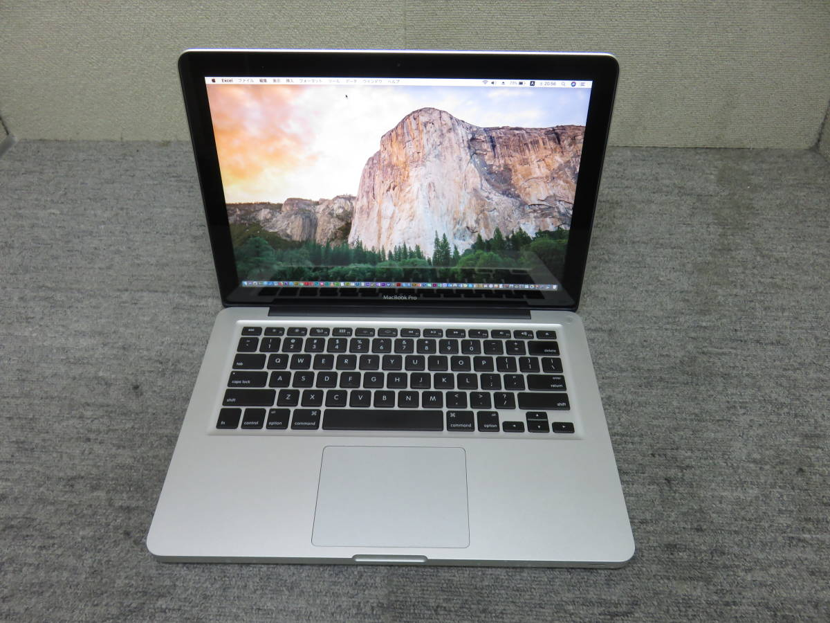 MacBook Pro A1278 *Late 2011 *13 3 type * height performance