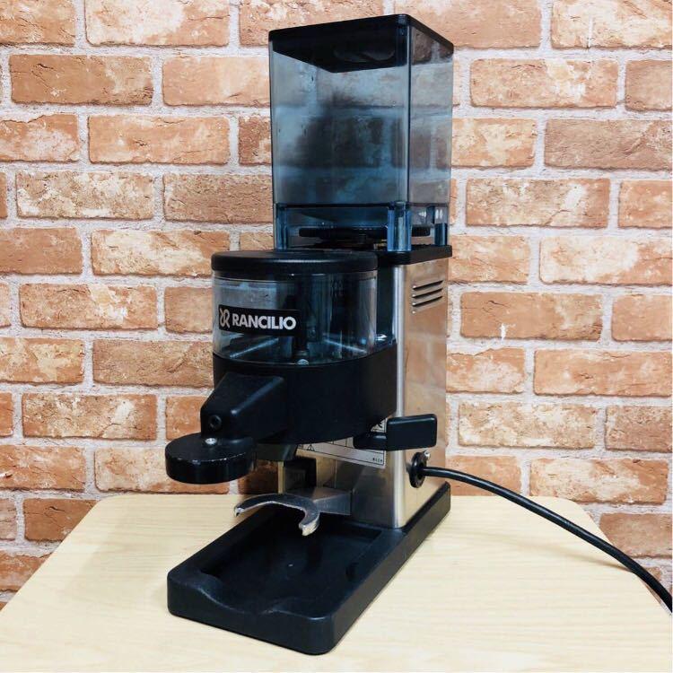 【中古】RANCILIO ランチリオ 電動 コーヒーミル エスプレッソ用 MD40 100V イタリア製_画像1