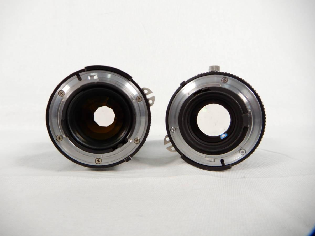 Nikon ニコン FE 105mm 1:2.8 80-200mm 1:4 NIKONOS Ⅳ-A 35mm1:2.5 YASHICA ヤシカ Electro 35 1:1.7 f=45mm 一眼レフカメラ レンズ_画像5