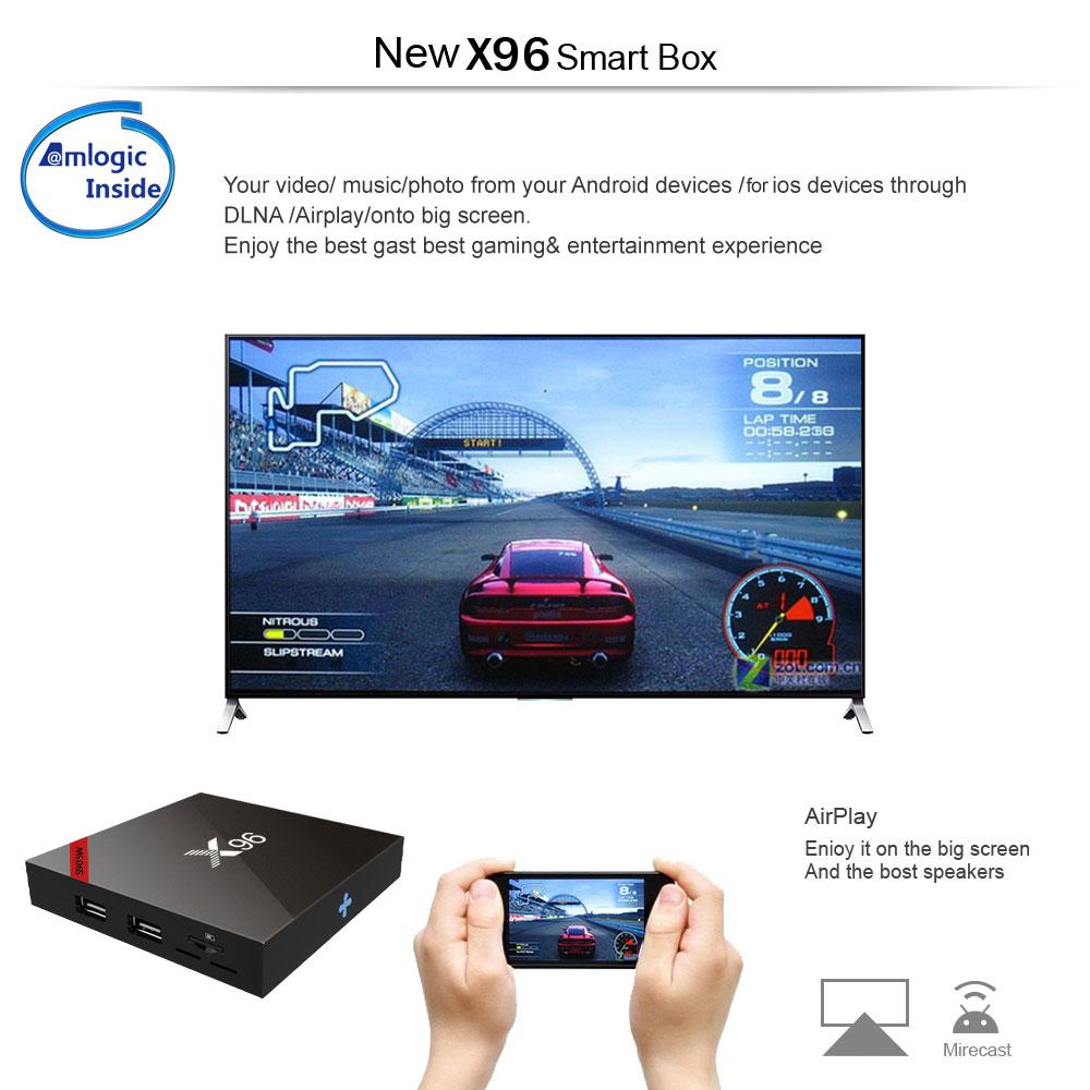 Android 7.1 アンドロイドTVボックス Bluetooth Wi-Fi S905Wクアッドコア 4K 3D 最新映画ドラマ 日本と世界数十国のTVがリアルタイムで見る_画像4