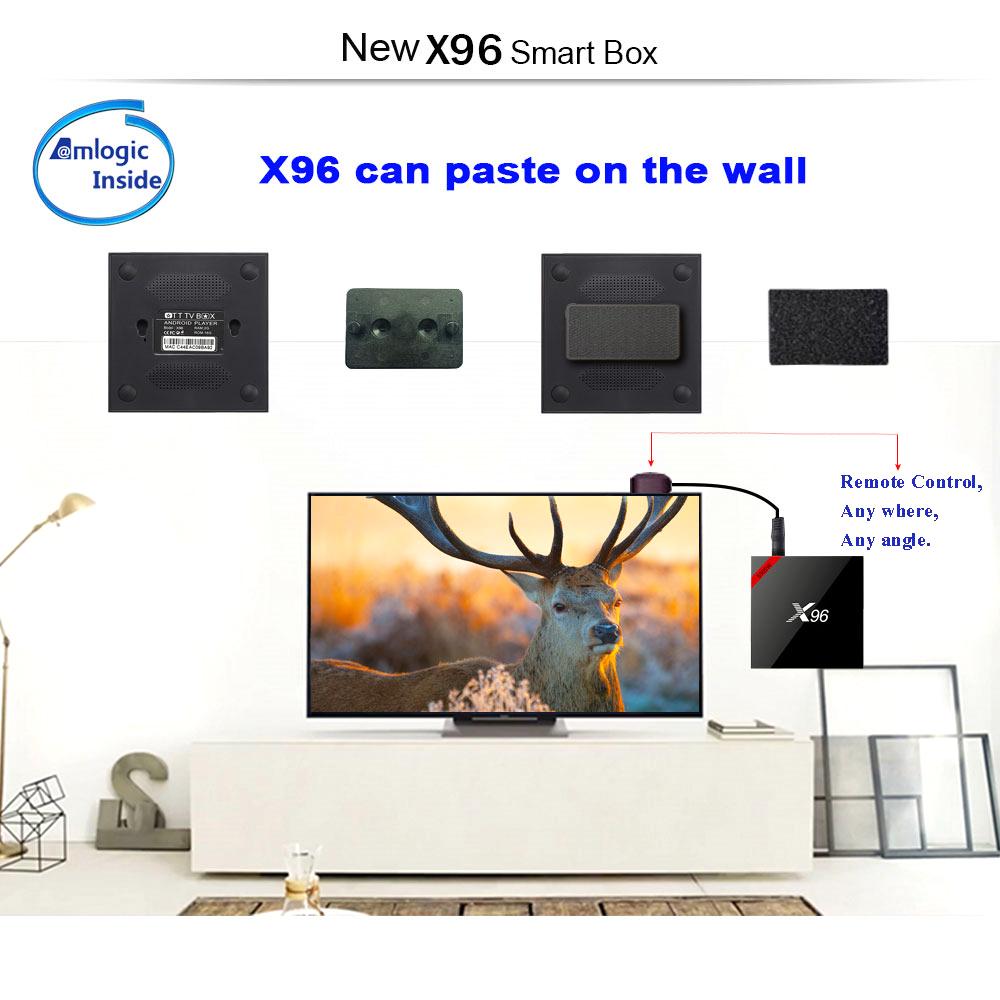 Android 7.1 アンドロイドTVボックス Bluetooth Wi-Fi S905Wクアッドコア 4K 3D 最新映画ドラマ 日本と世界数十国のTVがリアルタイムで見る_画像5