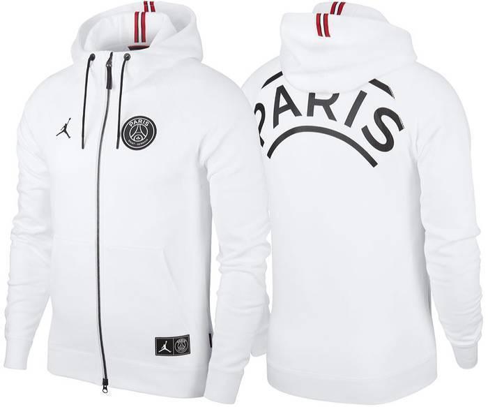 『海外正規品』NIKE AIR JORDAN PSG パリ・サンジェルマンコラボ NIKE BCFC WINGS FZ ホワイト(BQ4195-010)US Sサイズ♪